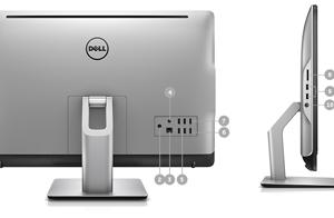 کامپیوتر همه کاره 23.8 اینچی دل مدل All in one 5488