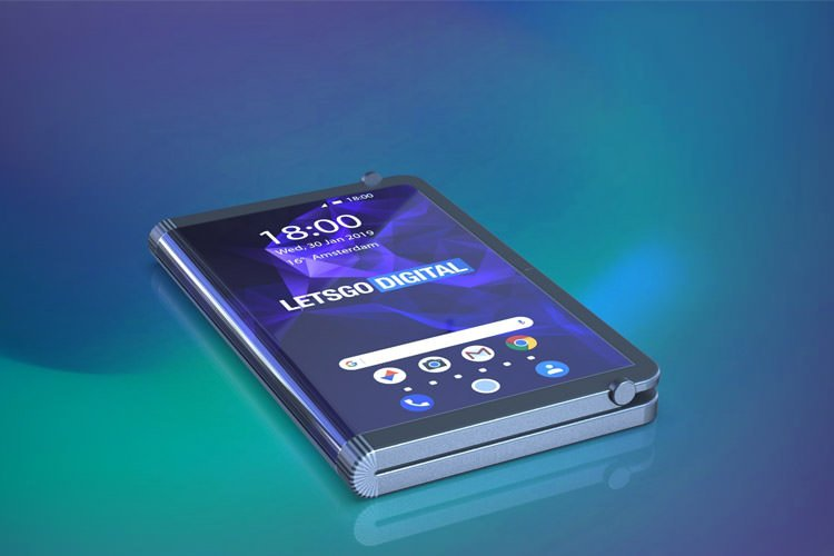 سامسونگ حق امتیاز اختراع گوشی تاشدنی با صفحهنمایش دوگانه را به ثبت رساند