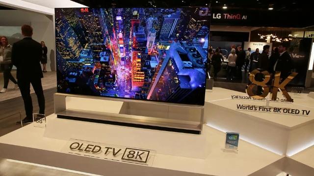 ال جی از 8 مدل تلویزیون 8K در نمایشگاه CES 2020 رونمایی کرد
