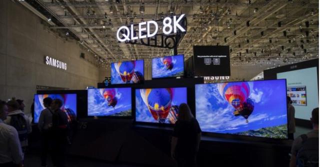 سامسونگ از تلویزیون بدون حاشیه Q۹۵۰TS با کیفیت 8K رونمایی کرد