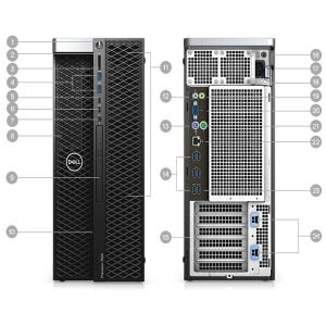 کیس پرسیژن ورک استیشن Dell PresitionWorkstation T5820