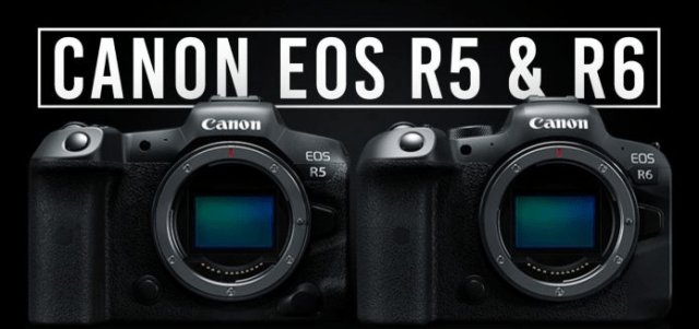 کمپانی کانون از دوربین های جدید خود سری EOS R5 و Canon EOS R6 رونمایی کرد