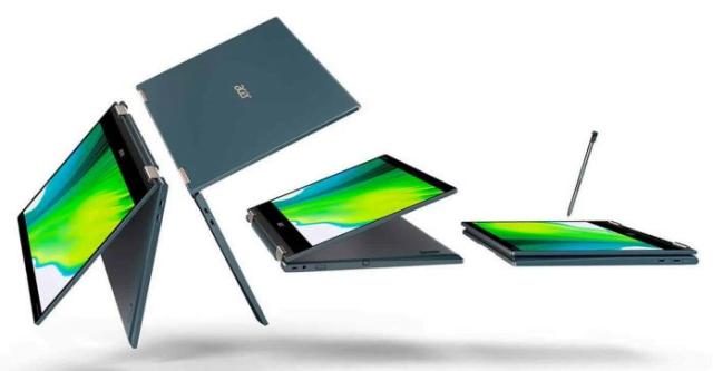 کمپانی ایسر از لپ تاپ مدل Acer Spin 7 5G رونمایی کرد