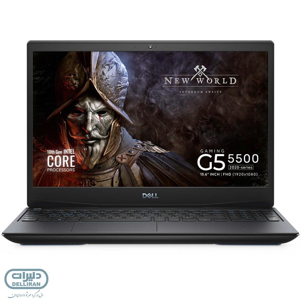 لپ تاپ دل گیمینگ dell inspiron gaming g5 5500